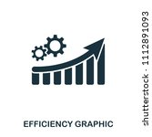 efficiency increase graphic... | Shutterstock .eps vector #1112891093