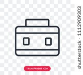 briefcase vector icon isolated...   Shutterstock .eps vector #1112909303