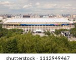 moscow  russia   june 07  2018  ...   Shutterstock . vector #1112949467