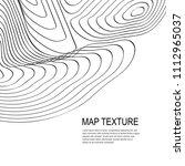 topographical vector background ...   Shutterstock .eps vector #1112965037
