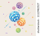 abstract vector background with ... | Shutterstock .eps vector #1112982527