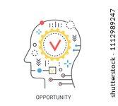 opportunity vector illustration ... | Shutterstock .eps vector #1112989247