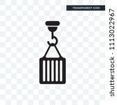 hook vector icon isolated on... | Shutterstock .eps vector #1113022967