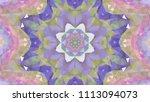 geometric design  mosaic of a...