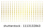 exclamation sign icon golden... | Shutterstock .eps vector #1113132863