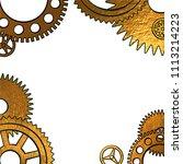 vector illustration in retro... | Shutterstock .eps vector #1113214223