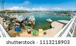 Small photo of La Spezia, Italy - April 28: Port of La Spezia, on April 28 2018 in La Spezia, Italy