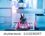 robotic machine tool in... | Shutterstock . vector #1113230357