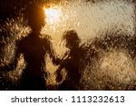 abstract silhouettes of two...   Shutterstock . vector #1113232613