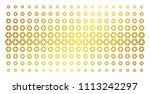 shutter icon golden halftone... | Shutterstock .eps vector #1113242297