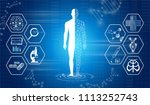 abstract background technology... | Shutterstock .eps vector #1113252743