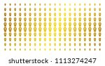 coffin icon gold colored... | Shutterstock .eps vector #1113274247