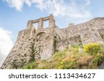 ancient medieval castle in... | Shutterstock . vector #1113434627