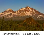 three sisters wilderness ... | Shutterstock . vector #1113531203