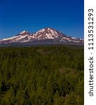 three sisters wilderness ... | Shutterstock . vector #1113531293