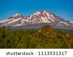 three sisters wilderness ... | Shutterstock . vector #1113531317