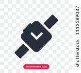 smartwatch vector icon isolated ... | Shutterstock .eps vector #1113589037