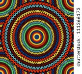 seamless knitted pattern | Shutterstock .eps vector #111366173