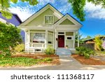 small cute craftsman american... | Shutterstock . vector #111368117
