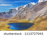beautiful mountains landscapes... | Shutterstock . vector #1113727043