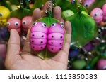 the worm is made of nylon... | Shutterstock . vector #1113850583