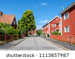 norrkoping  sweden   june 15 ... | Shutterstock . vector #1113857987