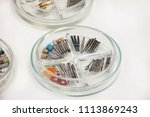 dental drill burs. dental...   Shutterstock . vector #1113869243
