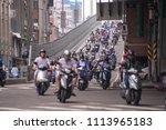 taipei  taiwan   june 13  2018  ... | Shutterstock . vector #1113965183