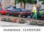 14 may 2018  budapest  hungary  ... | Shutterstock . vector #1114019183