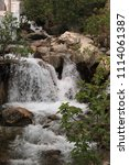 Small photo of Waterfalls of Ras El Maa, in Chefchaouen, northern Morocco