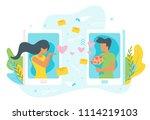 vector flat style illustration...   Shutterstock .eps vector #1114219103