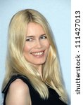 Claudia Schiffer At The 2007...