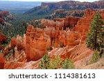bryce canyon national park ... | Shutterstock . vector #1114381613