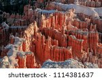 bryce canyon national park ... | Shutterstock . vector #1114381637