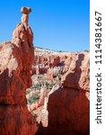bryce canyon national park ... | Shutterstock . vector #1114381667