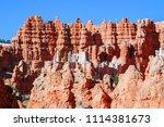 bryce canyon national park ... | Shutterstock . vector #1114381673