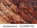 bryce canyon national park ... | Shutterstock . vector #1114381733