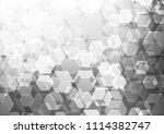 light silver  gray vector... | Shutterstock .eps vector #1114382747