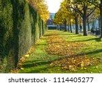 belveder park with people... | Shutterstock . vector #1114405277