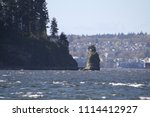 a view of siwash rock as seen... | Shutterstock . vector #1114412927