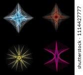 geometric patterns etudes... | Shutterstock .eps vector #1114427777