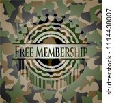 free membership on camouflaged... | Shutterstock .eps vector #1114438007