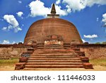 Polonnaruwa   Ancient Stupa....