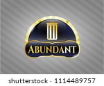 shiny emblem with trash can...   Shutterstock .eps vector #1114489757