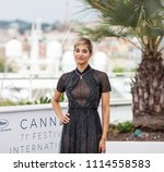 Small photo of CANNES, FRANCE - MAY 12, 2018: Algerian actress Sofia Boutella attends the photocall for the 'Farenheit 451' during the 71st annual Cannes Film Festival