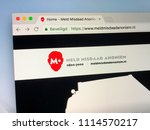 Small photo of Amsterdam, Netherlands - June 17, 2018: Dutch crime stopper website to report crime anonymously (Dutch: meld misdaad anoniem).