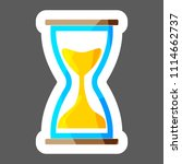vector icon image  hourglass. ... | Shutterstock .eps vector #1114662737