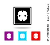 electric outlet icon. elements... | Shutterstock .eps vector #1114776623