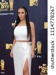 kim kardashian at the 2018 mtv... | Shutterstock . vector #1114778267