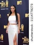 kim kardashian at the 2018 mtv... | Shutterstock . vector #1114778273